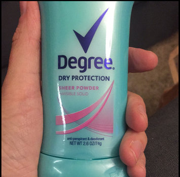 Photo of Degree Dry Protection Sheer Powder Invisible Solid 2.6 oz uploaded by Katherine V.