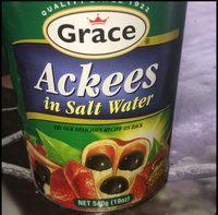 Grace Ackees in Salt Water 19oz, 540ml ONE Can. uploaded by Rockea J.