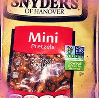 Snyder's of Hanover Mini Pretzels uploaded by Teresa C.