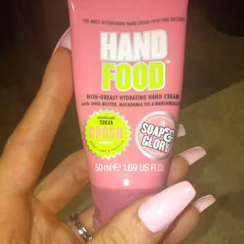 Photo of Soap & Glory Hand Food Non-Greasy Hydrating Hand Cream, Travel Size, 1.69 oz uploaded by Charisma T.