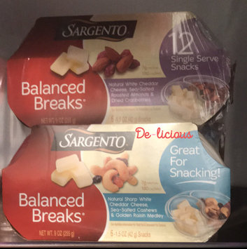 Photo of Sargento® Balanced Breaks® Natural White Cheddar Cheese with Almonds and Dried Cranberries uploaded by Destiny W.