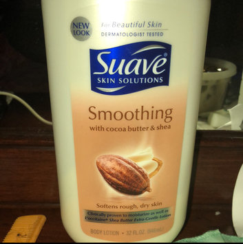 Photo of Suave® Smoothing with Cocoa Butter & Shea Body Lotion uploaded by Deondre W.