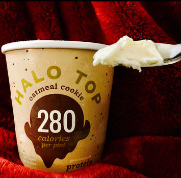 Photo of Halo Top Oatmeal Cookie Ice Cream uploaded by K R.