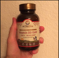 Nutrigold Vitamin D3 Gold (in Organic Olive Oil), 2000 IU, 360 softgels uploaded by Alexandre S.