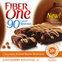 Fiber One 90 Calorie Chocolate Peanut Butter Brownie uploaded by Stephanie s.
