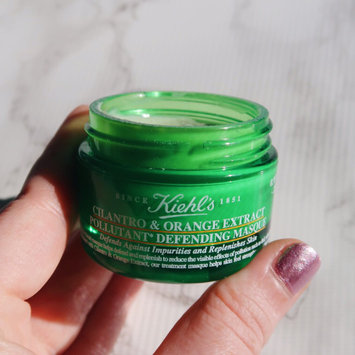 Photo of Kiehl's Since 1851 'Cilantro & Orange Extract' Pollutant Defending Masque (Nordstrom Exclusive) uploaded by Lauren F.