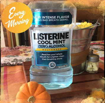 Photo of LISTERINE® Zero® Mouthwash Clean Mint uploaded by Monica T.