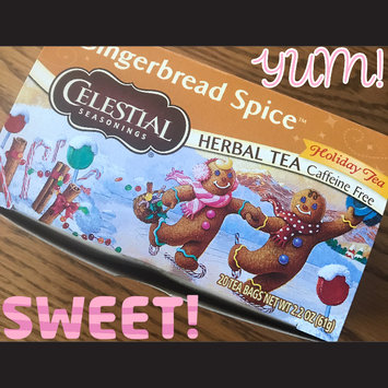 Photo of Celestial Seasonings® Holiday Herbal Tea Gingerbread Spice Caffeine Free uploaded by Stacy S.