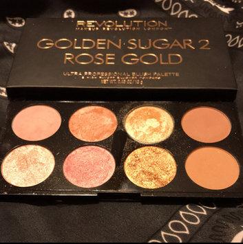Photo of Makeup Revolution Golden Sugar 2 Rose Gold Ultra Professional Blush Palette uploaded by Taylor H.