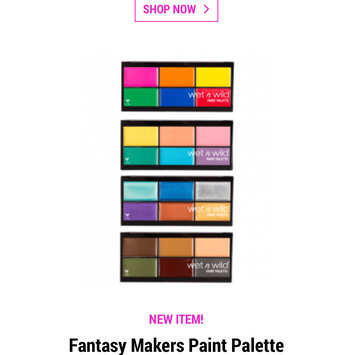 Photo of Wet N Wild Fantasy Makers Painter's Palette Halloween Face Makeup uploaded by Meghan C.