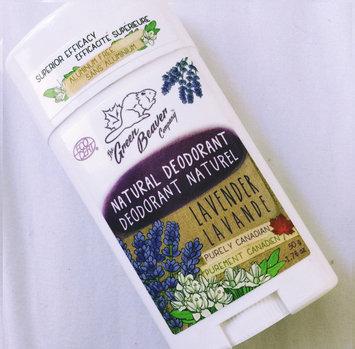 Photo of Green Beaver Natural Deodorant Lavender - 1.76 oz uploaded by Brooke B.