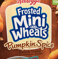 Kellogg's® Frosted Mini-Wheats® Limited Edition Pumpkin Spice Cereal 15.5 oz. Box uploaded by Athena G.