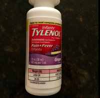 Tylenol® Infants' Simple Measure Grape Oral Suspension uploaded by Carissa O.
