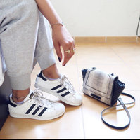 Adidas Boys' Grade School Superstar Casual Shoes, Boy's, White uploaded by Addicted t.