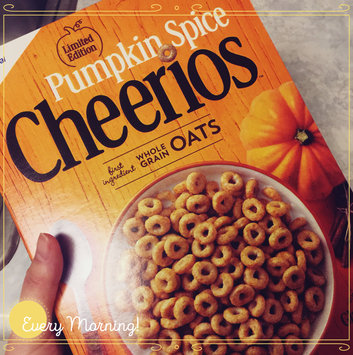 Photo of Cheerios Pumpkin Spice Cereal uploaded by Sarah C.
