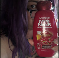 Garnier Whole Blends Argan Oil & Cranberry Extracts Color Care Shampoo uploaded by Wendy C.