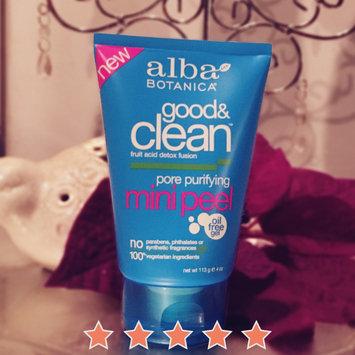 Photo of Alba Bontanica Good & Clean Pore Purifying Mini Peel uploaded by Mallory M.