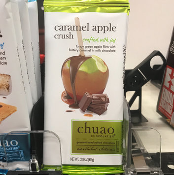 Photo of Nassau Candy 933930 2.8 oz Chuao Choc Caramel Apple Crush Chocolate - Pack of 12 uploaded by Echo S.