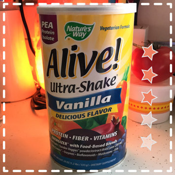 Photo of tures Way Nature's Way Alive! Ultra-Shake Soy Protein - Vanilla uploaded by Jennifred W.