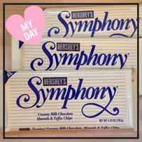 Hershey's Symphony Milk Chocolate with Almonds And Toffee Bar uploaded by Kat J.