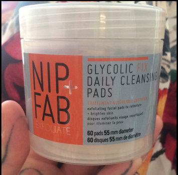 Photo of Nip + Fab Glycolic Fix Exfoliating Facial Pads - 60 Count uploaded by Ella P.