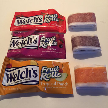 Photo of Welch's® Fruit Rolls White Grape Strawberry uploaded by Megan S.
