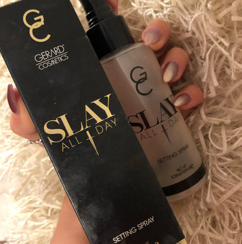 Photo of Gerard Cosmetics Slay All Day Setting Spray Peach uploaded by VT♡ T.