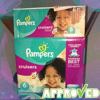 Pampers Cruisers Diapers Giant Pack - Size 6 (76 Count) uploaded by Taylor B.