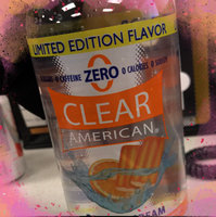 Clear American Orange Cream Flavored Sparkling Water, 33.8 fl oz uploaded by Mally B.