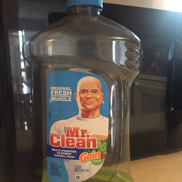 Photo of Mr Clean with Gain Original Fresh Scent Multi Surface Liquid 40 Fl Oz uploaded by Jeanny-Sofia O.
