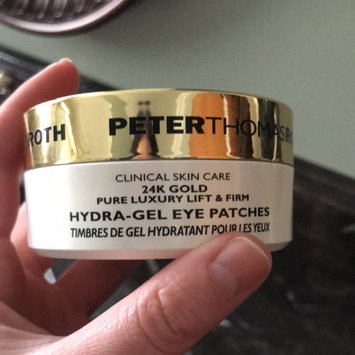 Photo of Peter Thomas Roth 24K Gold Pure Luxury Lift and Firm Hydragel Eye Patches 60 ct uploaded by member-9c1e6