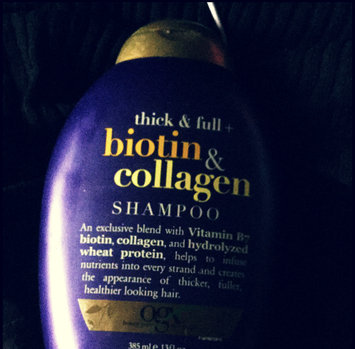 Photo of OGX® Biotin & Collagen Shampoo uploaded by Amber O.