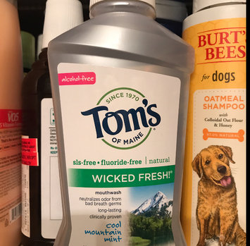 Photo of Tom's of Maine Wicked Fresh! Long Lasting Mouthwash uploaded by Kristen S.