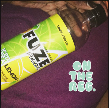 Photo of Fuze Lemon Iced Tea 20 Oz uploaded by Amber O.
