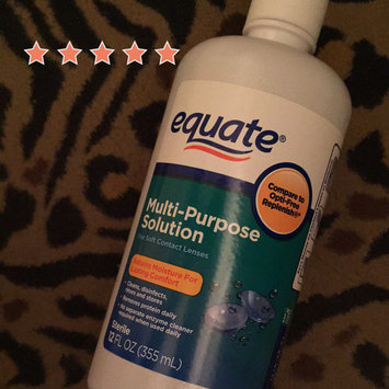 Photo of Equate - Multi-Purpose Contact Lenses Solution uploaded by Wendy C.