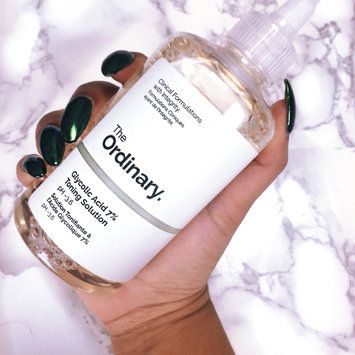 Photo of The Ordinary Glycolic Acid 7% Toning Solution uploaded by Commarrah B.