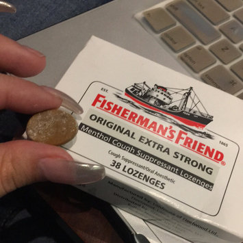 Photo of Fisherman's Friend Extra Strong Menthol Cough Suppressant Lozenges, Original uploaded by Alejandra P.