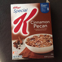 Kellogg Company Special K Cinnamon Pecan Cereal, 12.5 oz uploaded by Yahaira M.