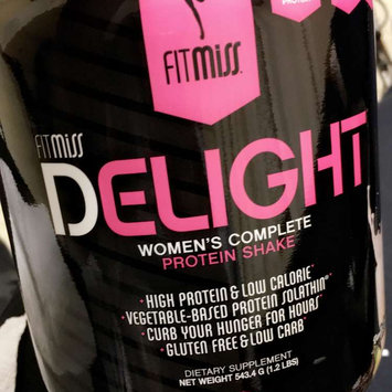 Photo of FitMiss Delight Women's Complete Protein Shake Chocolate Delight uploaded by Joi H.