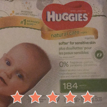 Photo of Huggies® Natural Baby Care Wipes uploaded by Stephanie B.