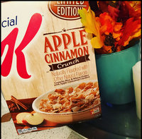 Special K® Kellogg's Apple Cinnamon Crunch Cereal uploaded by Eileen G.
