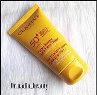 Clarins SPF 50+ Sunscreen For Face Wrinkle Control Cream uploaded by Nadia O.