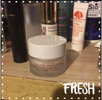 Photo of fresh Lotus Youth Preserve Face Cream uploaded by Lizzy B.