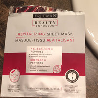 Freeman Beauty Infusion Pomegranate & Peptides Sheet Mask.84 uploaded by Megan W.