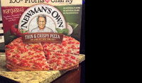 Newman's Own All Natural Organic Thin & Crispy Margherita Pizza uploaded by Kimberly L.