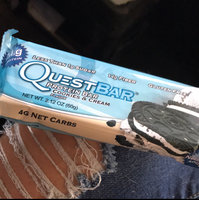 Quest Nutrition - QuestBar Natural Protein Bar Chocolate Chip Cookie Dough - 2.12 oz. uploaded by Kaela B.