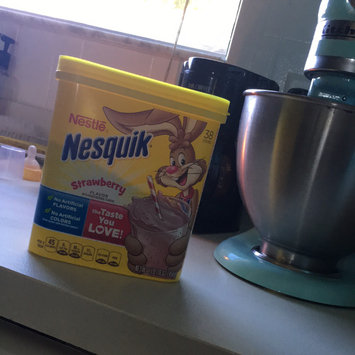 Photo of Nesquik® Strawberry Flavor Powder uploaded by Chelsea R.