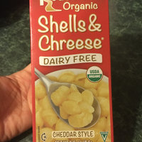 Road's End Organics Dairy Free Shells & Cheese Cheddar Style Organic Pasta Dinner uploaded by Martina L.