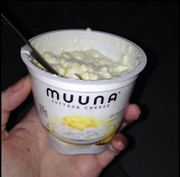 Photo of Muuna® 2% Milkfat Pineapple Cottage Cheese 5.3 oz. Cup uploaded by Bellatrix V.