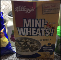 Kellogg's Frosted Mini-Wheats Blueberry Cereal uploaded by Paula L.